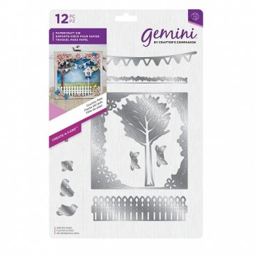 Crafter's Companion Gemini Create-a-Card Die Set - Country Fete