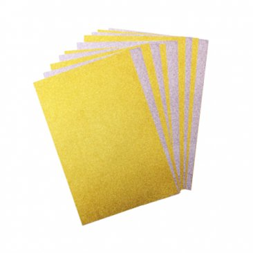 OakWood Archer® A4 Gold & Silver Satin Glitter Card (10 pk)